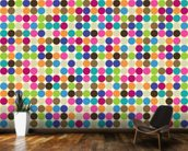 Circle Abstract Pattern wall mural kitchen preview