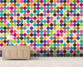 Circle Abstract Pattern wall mural living room preview