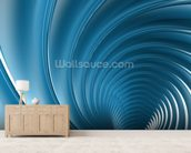 Twirl wall mural living room preview