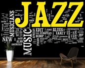 Jazz Music wallpaper mural kitchen preview