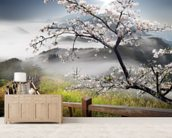 Japanese Walkway wall mural living room preview