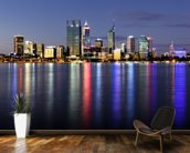 Perth by Night wall mural kitchen preview