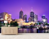 Melbourne, Australia wall mural living room preview