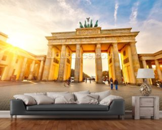 Brandenburg Gate wall mural