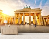 Brandenburg Gate wall mural living room preview