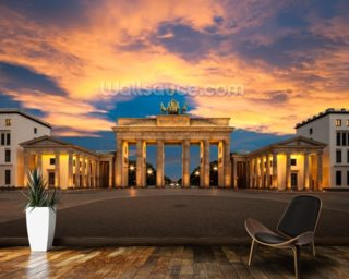 Brandenburg Gate, Berlin mural wallpaper