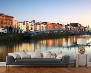 Dublin wallpaper wall murals wallsauce new zealand for Dublin wall mural