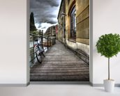 River Cam Walkway wall mural in-room view