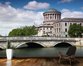 O'Donovan Rossa Bridge & Four Courts wall mural kitchen preview