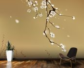 Plum Blossom wallpaper mural kitchen preview