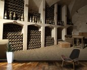 Castle Wine Cellar mural wallpaper kitchen preview