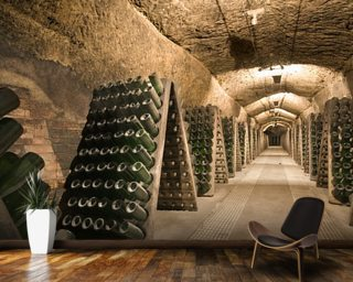 Epic Wine Cellar Wallpaper Wall Murals