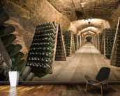 Epic Wine Cellar wallpaper mural kitchen preview