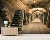 Epic Wine Cellar wallpaper mural living room preview