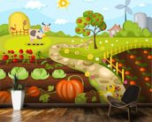 Harvest Time wall mural kitchen preview