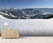 Zell am See Skiing, Austria wallpaper mural living room preview