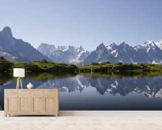 Alps wall mural