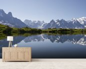 Alps wall mural living room preview