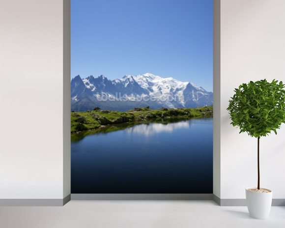 Mont Blanc wall mural room setting