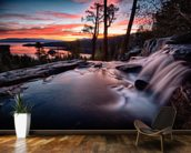 Lake Tahoe Sunrise wall mural kitchen preview