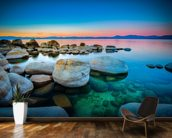 Sunrise Over Lake Tahoe wallpaper mural kitchen preview