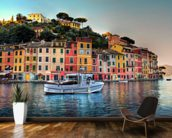Portofino Sunset, Italy wall mural kitchen preview