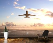 Aeroplane On Runway wall mural kitchen preview