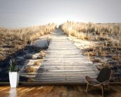 Boardwalk to Nowhere wall mural kitchen preview