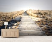 Boardwalk to Nowhere wall mural living room preview