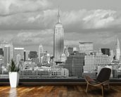 NY City Skyline wallpaper mural kitchen preview