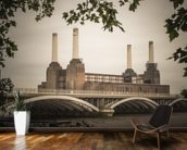 Battersea wall mural kitchen preview