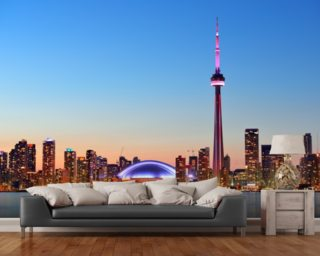 Toronto Wall Mural Wallpaper Wall Murals Wallpaper