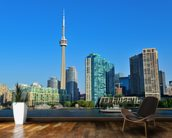 Toronto Skyline wall mural kitchen preview