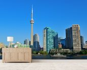 Toronto Skyline wall mural living room preview