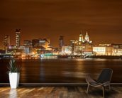 Liverpool at Night wall mural kitchen preview
