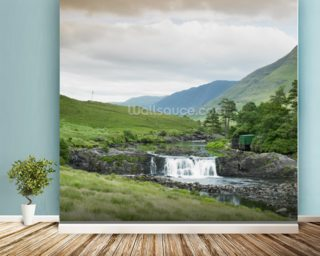 Aasleagh Falls, Galway wall mural