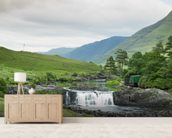 Aasleagh Falls, Galway wall mural living room preview