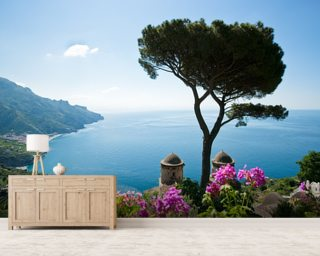 Amalfi Coast wallpaper mural