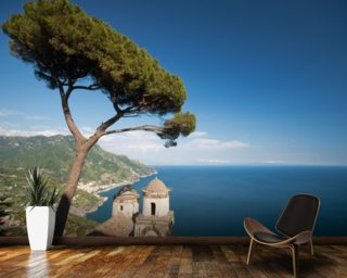 Amalfi Coastline wallpaper mural