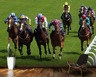 Horse Racing 5 Wall Mural Wallpaper Wall Murals Wallpaper