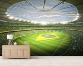Stadion Brasil 2 wallpaper mural living room preview