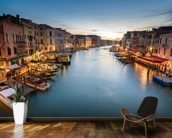 The Grand Canal from Rialto wall mural kitchen preview
