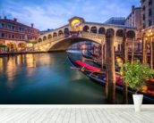 The Rialto Bridge mural wallpaper in-room view