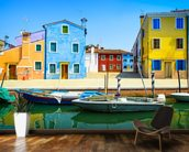 Burano Island, Venice wall mural kitchen preview