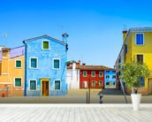 Burano Island, Venice wall mural in-room view