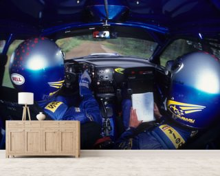 Richard Burns & Robert Reid, Subaru Impreza WRC (2001) wall mural