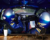 Richard Burns & Robert Reid, Subaru Impreza WRC (2001) wall mural kitchen preview