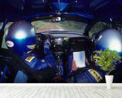 Richard Burns & Robert Reid, Subaru Impreza WRC (2001) wall mural in-room view