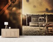 The Pipe to Paradise City wall mural living room preview