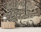 Winter Sweden wall mural living room preview